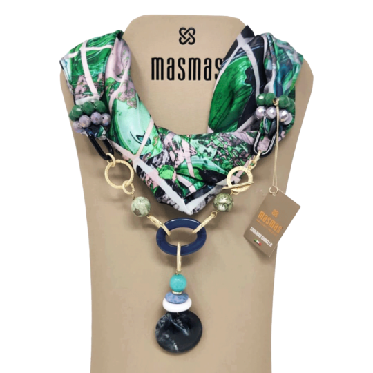 Masmas Collection. Foulard Gioiello